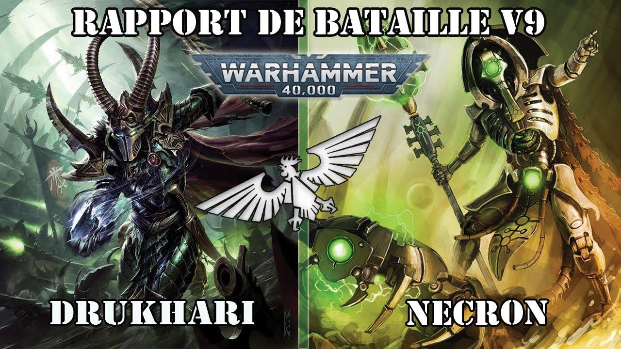 Download Wh40k - Rapport de Bataille Warhammer 40000 v9: Drukhari vs Nécron - 1500pts -