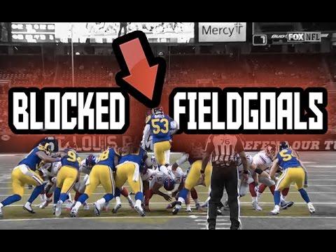 NFL Blocked Field Goals