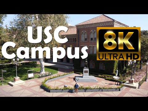 University of Southern California | USC | 8K Campus Drone Tour