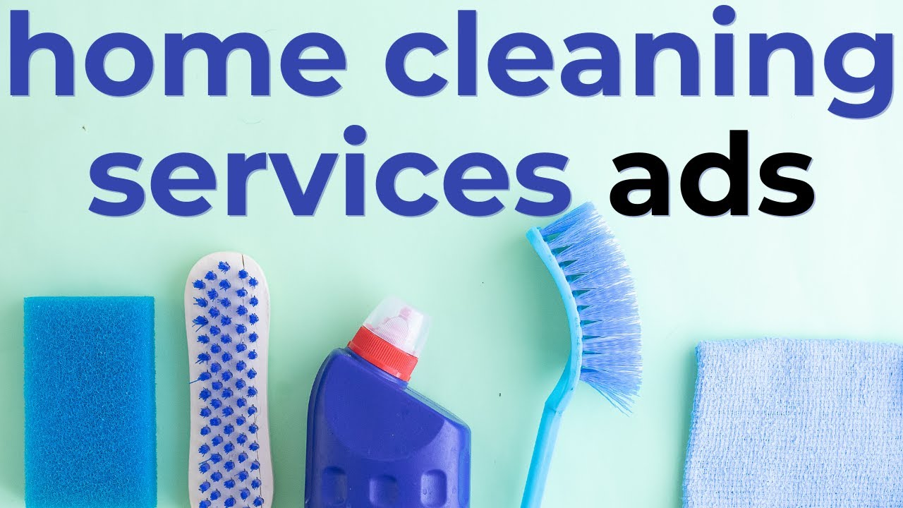 Professional Home Cleaning Services Commercial Ads