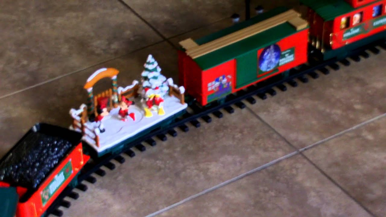 disney parks christmas train set - Disney Christmas Train
