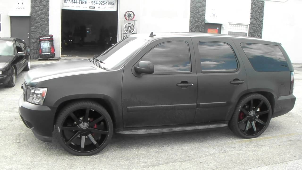 Dubsandtires Com 26 Inch Kmc Slide Black Wheels Matte