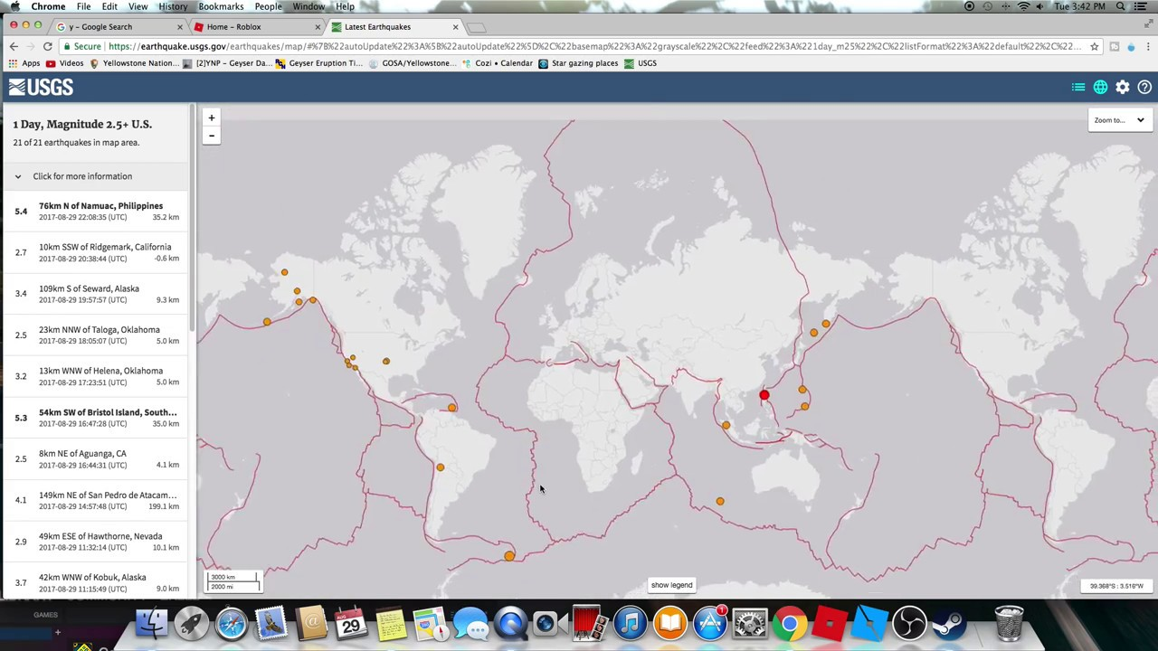 Why The USGS Earthquake Map Has Red Lines  YouTube
