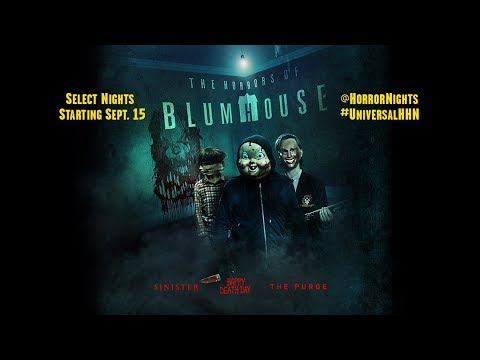 The Horrors of Blumhouse are coming to Halloween Horror Nights 2017