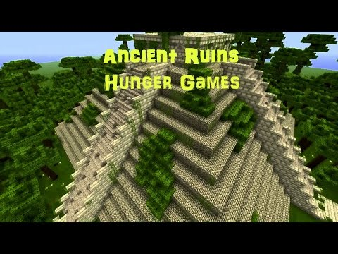 Minecraft PS4- Ancient Ruins Hunger Games!