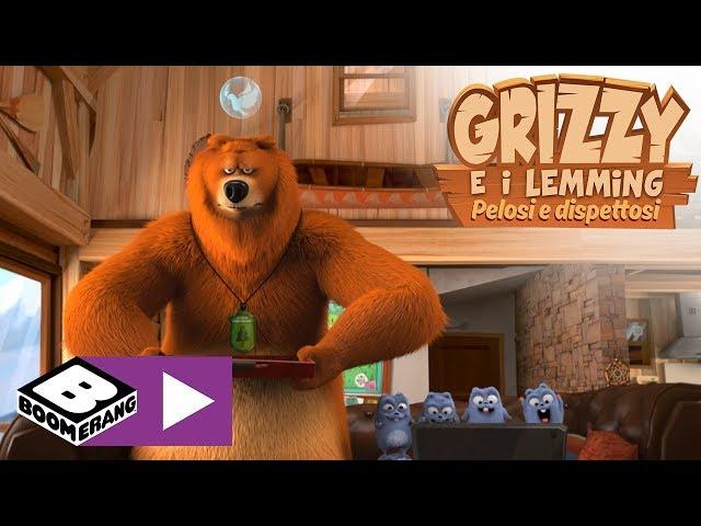 Il telecomando per la pace | Grizzy e i Lemming | Boomerang