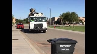 Southwest Disposal Autocar Xpeditor Bridgeport Ranger ASL Garbage Truck