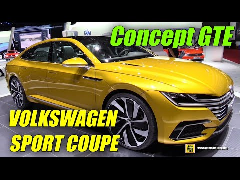 Volkswagen Sport Coupe Concept GTE - Exterior and Interior W