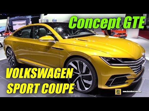 Volkswagen Sport Coupe Concept GTE - Exterior and Interior Walkaround - 2015 Geneva Motor Show