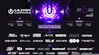 Afrojack -  FULL LIVE SET - Ultra Music Festival 2013 - Weekend 1