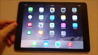 iPad Air 2 Rotate Screen and Lock Screen Orientation (How to on all iPad models)