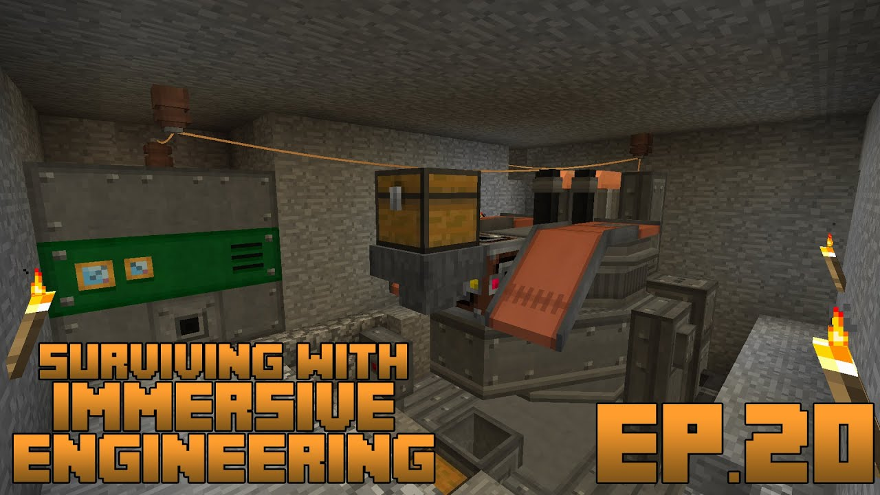Surviving With Immersive Engineering :: Ep.20 - Automating ...