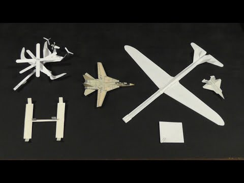 James Zongker's Radical Paper Aircraft