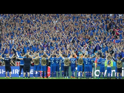 Relive Iceland's Viking Thunderclap during the Fifa World Cup 2018 (Astonishing Video)