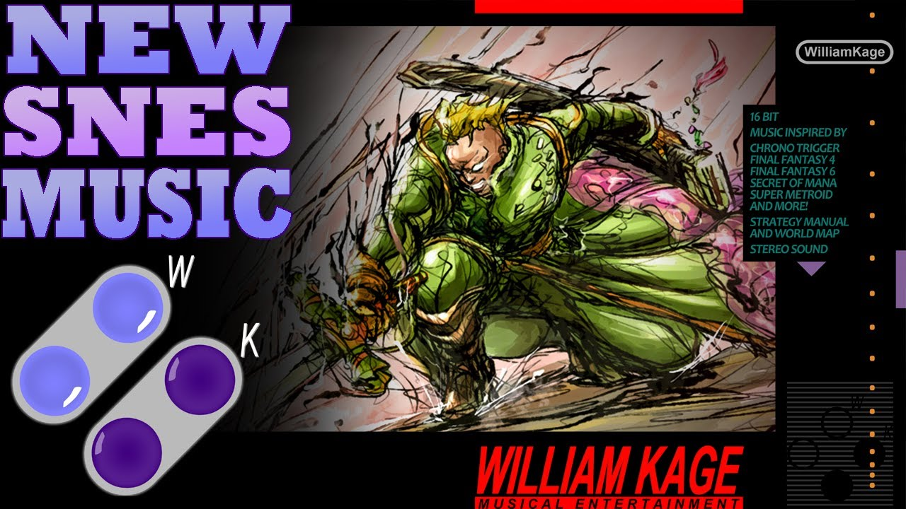 William Kage Shock and Awe General Leos Theme New SNES Music