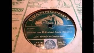 Jazzorchester Excellos Five mit Lucie Bernardo: Jazzband aus Krähwinkel (Berlin 1925)