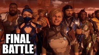 MORTAL KOMBAT 11 - Final Battle Scenes / Fight Scenes