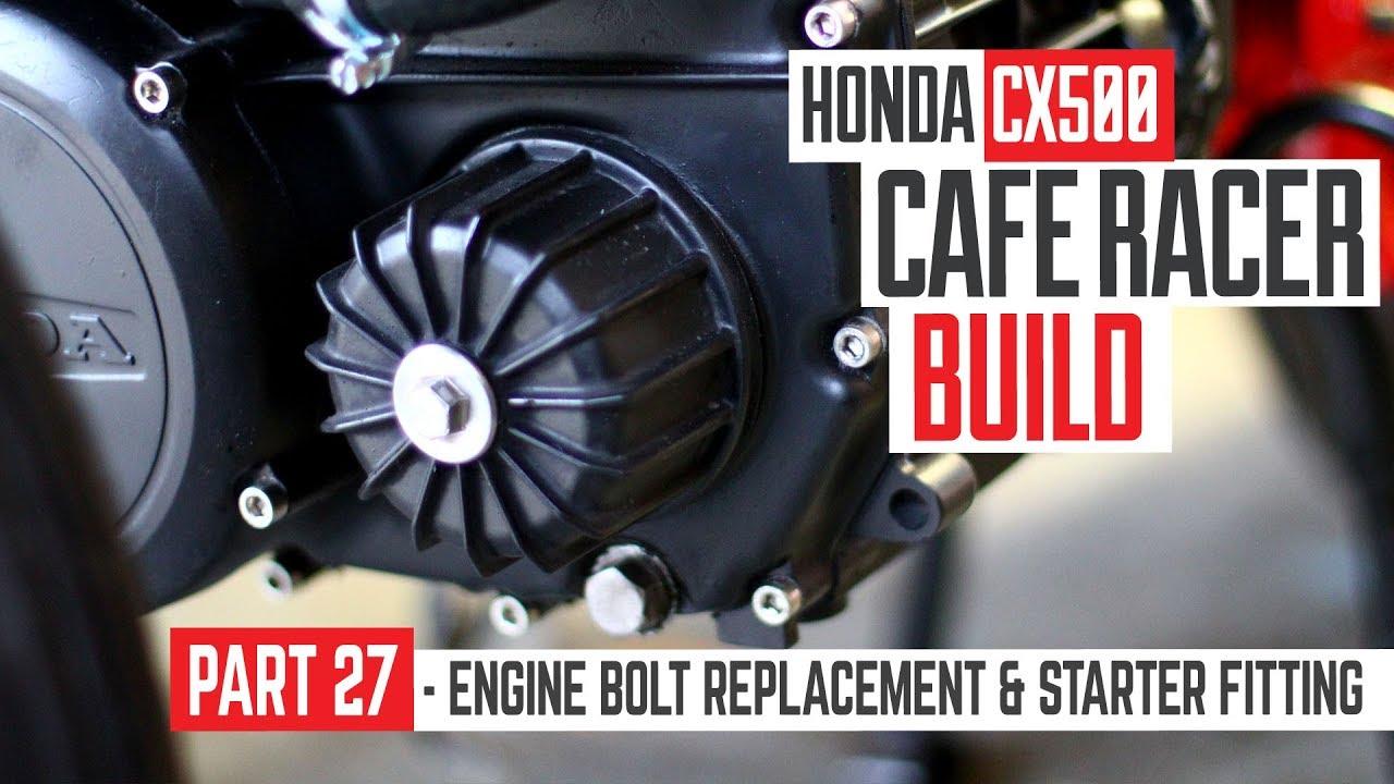 Honda CX500 Cafe Racer Build 27