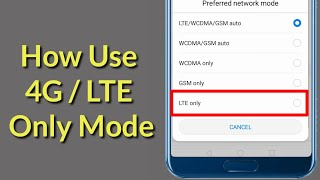 how to Force 4G LTE Only on Your iPhone Jailbreak