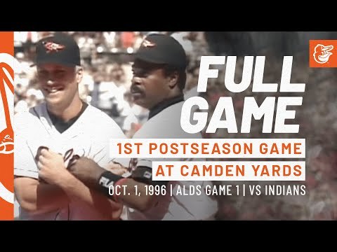 Game #20: 1996 ALDS Game 1, Indians at Orioles