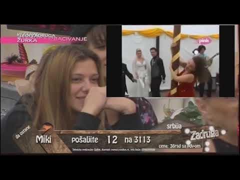 Svadba Kije i Slobe - Montaža (Ami G Show S10)