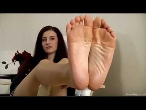 soles Punk girl foot