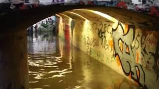 Zalany tunel przy  ul. 1 Maja w Olsztynie