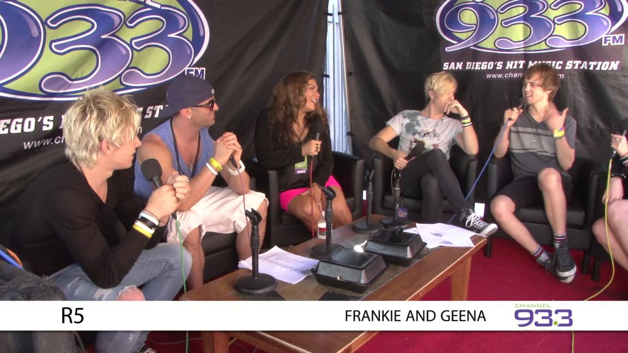 R5 interview at Channel 933's Summer Kick Off Concert