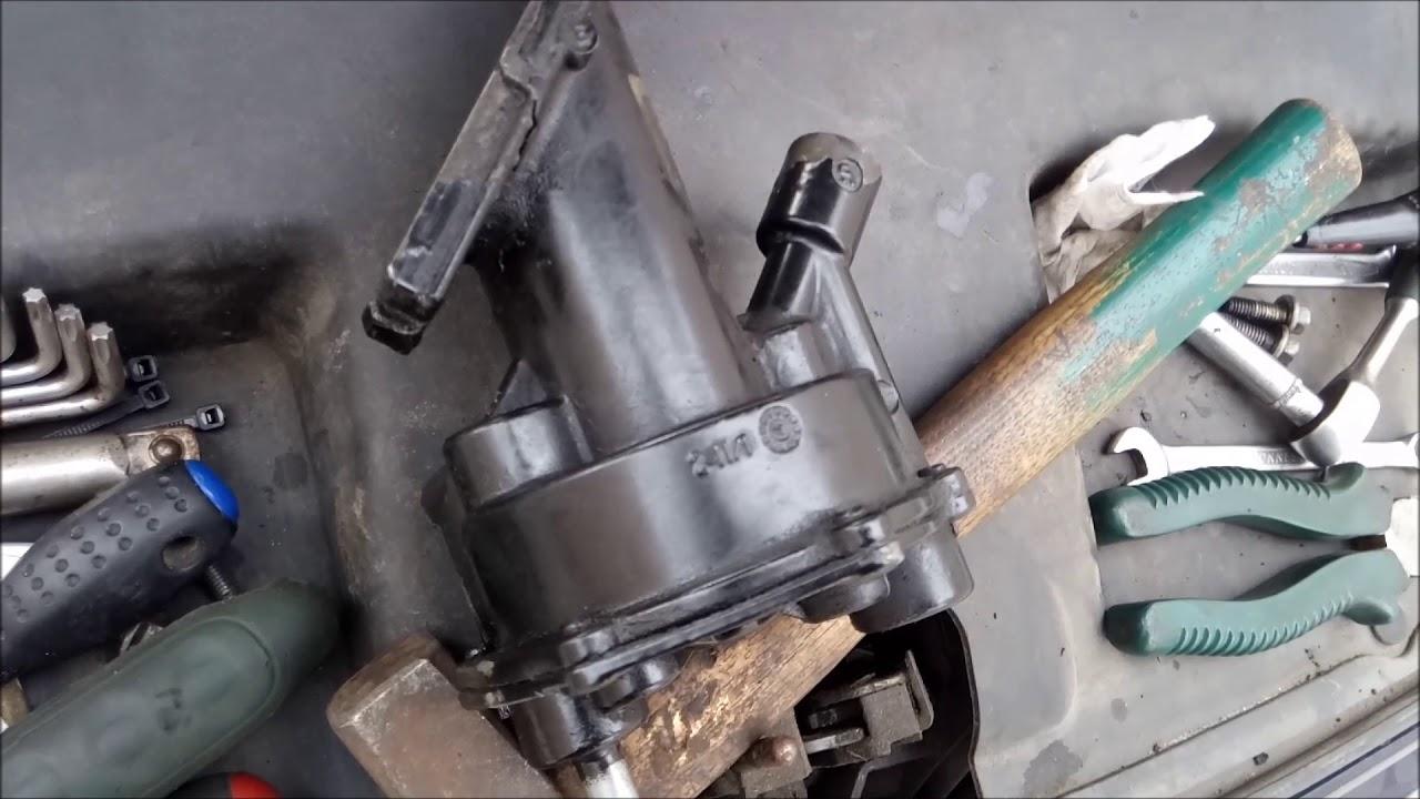 Ремонт вакуумного насоса форд дизель 1.8