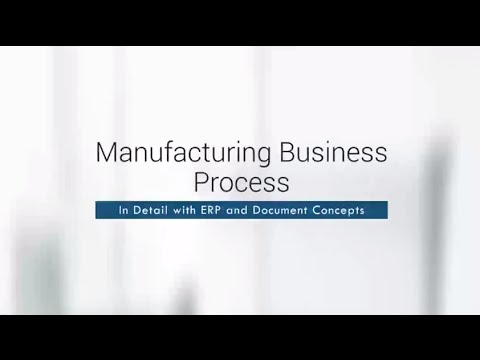 Manufacturing Business Process In Detail