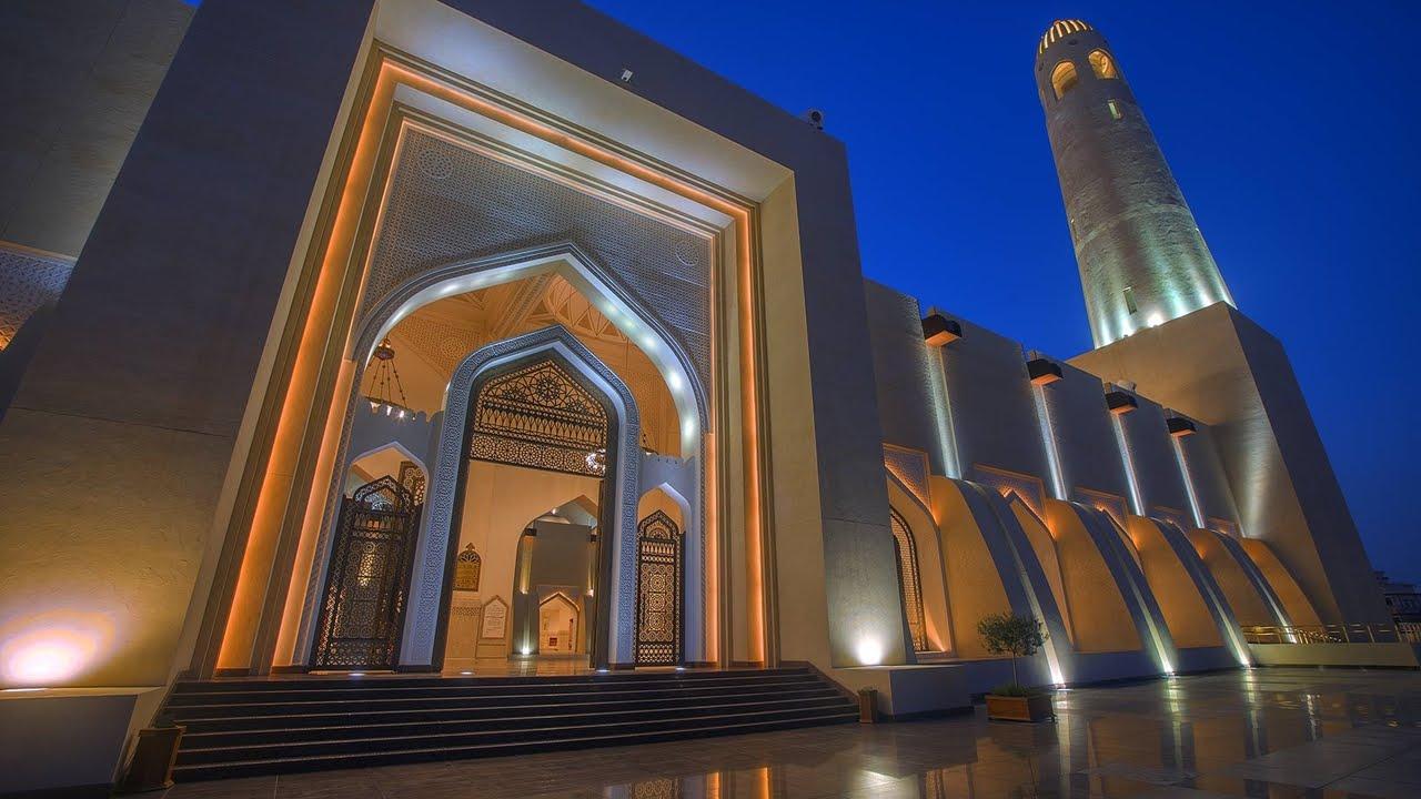 Grand mosque qatar supply of interior lights project mubarak