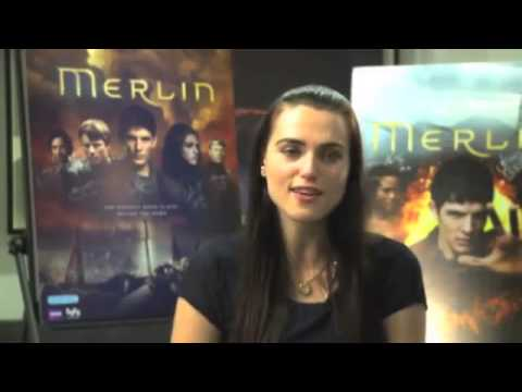 Merlin season 5 interview with Colin Morgan,Bradley James,Angel Coulby and Katie Mcgrath