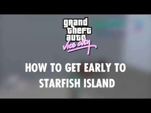 GTA Vice City | Tutorial | Starfish Island Early In The Game