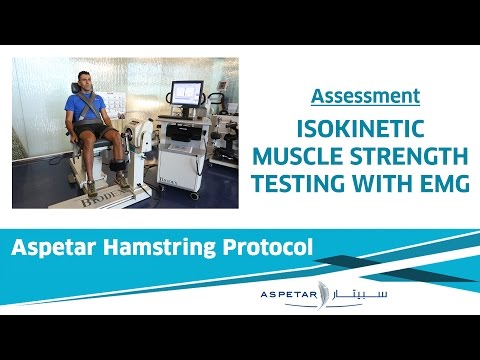 17. Assessment - At Return To Sport, Include Isokinetic Strength Testing