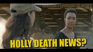 The Walking Dead Season 7 Episode 16 Discussion Will We See The Holly Death?