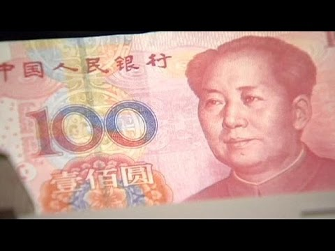 Stocks fall as China devalues yuan currency for second straight day