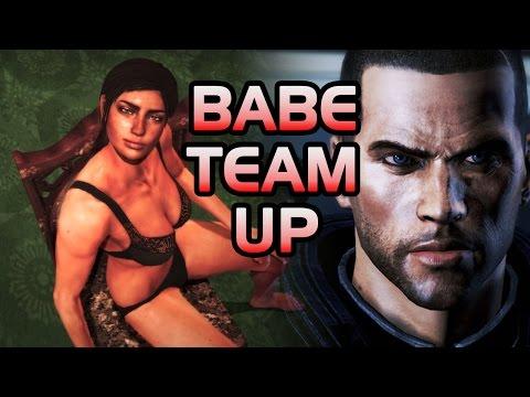 BABE TEAM UP! - TJ Laser vs Dead Space 2! (#6)