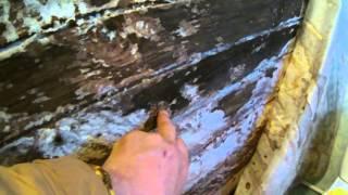 видео Ванная комната в деревянном доме своими руками