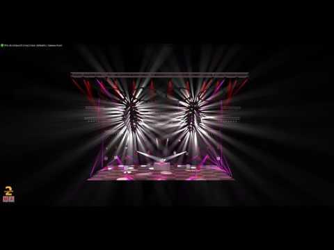 GrandMa2 3D on PC -Robert Plant - In the Mood