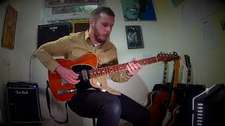 I Feel Good - James Brown - Full length guitar cover