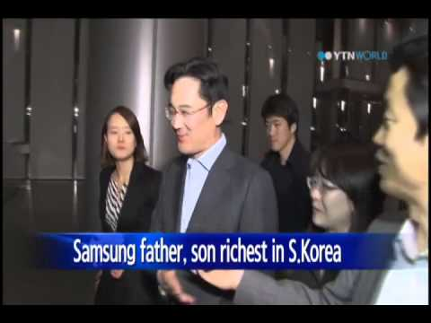 Samsung Chairman Lee Kun-Hee said to be richest in S.Korea / YTN
