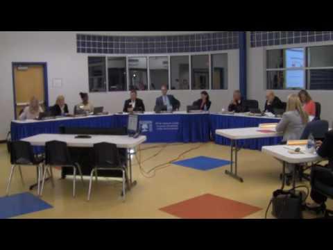 Board of Education Meeting: October 20, 2016