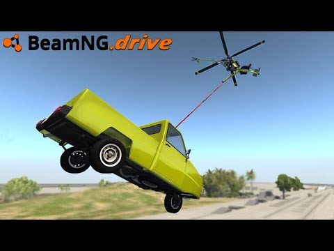 BeamNG.drive - SUPER MINI HELICOPTER