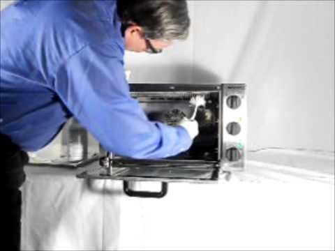 Equipex Compact Convection Oven Cleaning Youtube