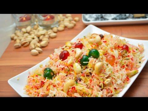 Mutanjan in Urdu | Hindi - Mutanjan Rice Recipe - Zarda banane ka tarika - Meethe Chawal Recipe thumbnail