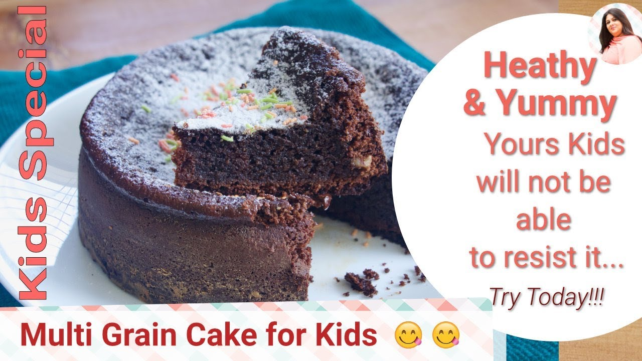 Cooker Multi Grain Healthy Cake Recipe For Kids, Healthy