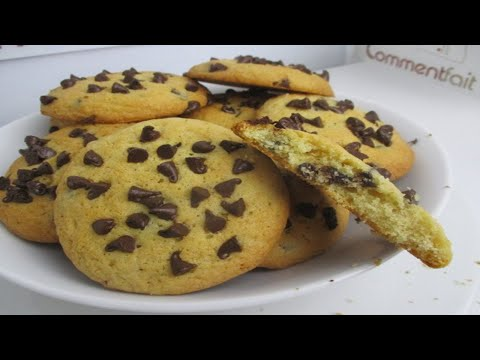 Comment faire des cookies Americains aux pépites de chocolat facilement?