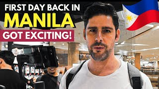 EXCITING first day in MANILA - Philippines Vlog