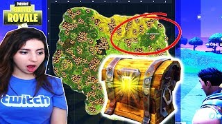 *SECRET* WAILING WOODS CHEST SPAWNS! (EASY WAILING WOODS CHESTS LOCATION) Fortnite Chest Challenge