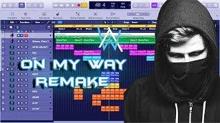 Alan Walker, Sabrina Carpenter & Farruko - On My Way Instrumental Remake (Production Tutorial)